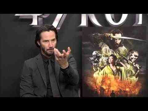 47 Ronin - Keanu Reeves Interview 2