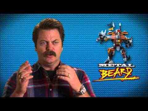 The Lego Movie - Nick Offerman Interview