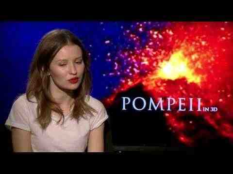 Pompeii - Emily Browning Interview