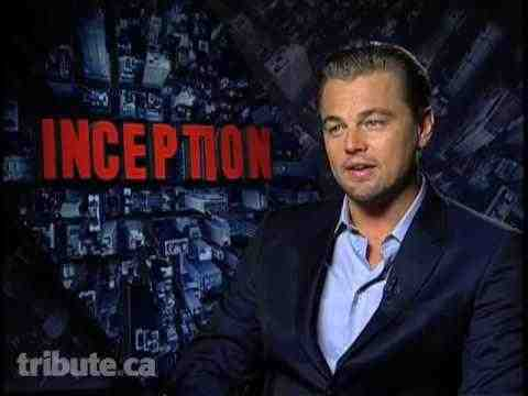 Inception - Leonardo DiCaprio interview
