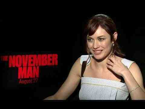 The November Man - Olga Kurylenko Interview