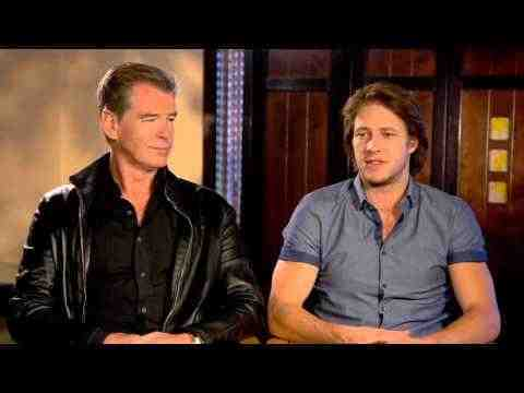 The November Man - Pierce Brosnan & Luke Bracey Interview