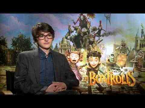The Boxtrolls - Isaac Hempstead-Wright Official Interview