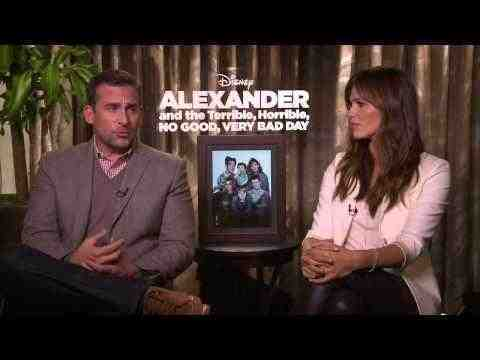 Alexander and the Terrible, Horrible, No Good, Very Bad Day - Steve Carell & Jennifer Garner Interview