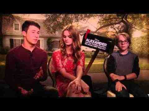 Alexander and the Terrible, Horrible, No Good, Very Bad Day - Interviews