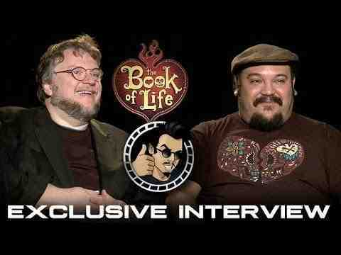 Book of Life -  Guillermo del Toro & Jorge Gutierrez Interview