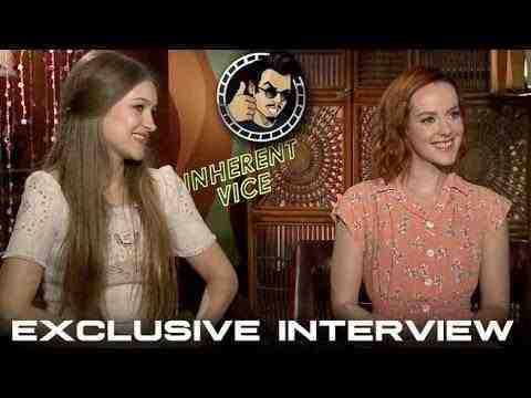 Inherent Vice - Jena Malone and Joanna Newsom Interview