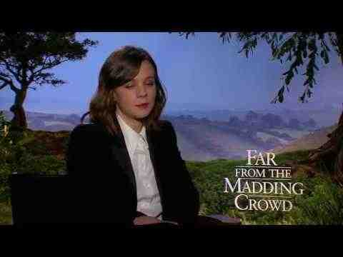 Far from the Madding Crowd - Carey Mulligan Official Interview