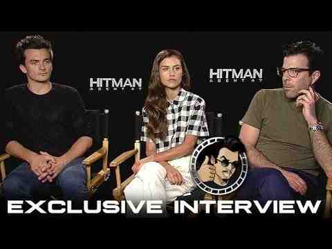 Hitman: Agent 47 - Rupert Friend, Hannah Ware, & Zachary Quinto Interview
